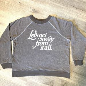 WildFox Let's Get Away From it all sweater